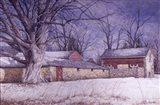 Milky Way Farm Art Print