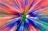 Zoom Abstract of Pansy Flowers Art Print