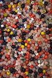Glass beads, Khan el Khalili Bazaar, Market, Cairo, Egypt Art Print