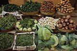 Vegetables for sale, street market, Luxor, Egypt Art Print