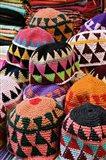 Colorful Head Wear For Sale, Luxor, Egypt Art Print