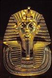 Gold Death Mask, Cairo, Egypt Art Print