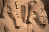 Statues of Ramses II, Abu Simbel, Egypt Art Print