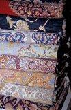 Fine Wool Carpets at El Sultan Carpet School, Cairo, Egypt Art Print