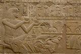 Egypt, Luxor, Luxor Temple, Hieroglyphics Art Print