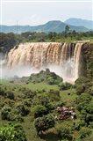 Tis Isat, waterfall, Blue Nile, Ethiopia Art Print