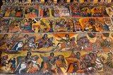Debre Berhan Selassie church in Gonder, Ethiopia Art Print