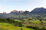 Escarpment of the Semien Mountains, Ethiopia Art Print