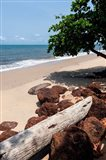 View of the ocean on the Gulf of Guinea, Libreville, Gabon Art Print
