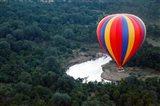 Kenya, Maasai Mara, Mara River, Hot-Air Ballooning Art Print