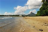 Calm Beach, Tamarin, Mauritius Art Print