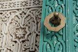 Morocco, Islamic courts, Moorish Architecture Art Print