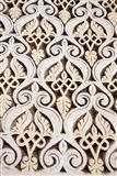 Islamic patterns on Mahakma Law Courts, Morocco Art Print