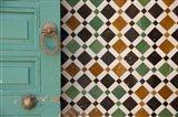 Morocco, Islamic law courts, door knocker Art Print