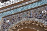 Morocco, Casablanca, Ornate Royal Palace entry Art Print