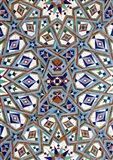 Morocco, Hassan II Mosque mosaic, Islamic tile detail Art Print
