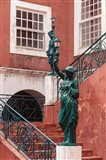 Entryway at Governor's Palace, Mozambique Island, Mozambique Art Print
