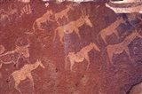 Pictograph, Engravings from Stone Age Culture, Twyfelfonstein Region, Namibia Art Print