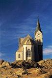 Namibia, Luderitz, Evangelical Lutheran Church Art Print