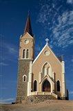 Felsenkirche (Rock Church), Diamond Hill, Luderitz, Southern Namibia Art Print