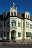 Historic Hohenzollern Building 1906, Swakopmund, Namibia, Africa. Art Print