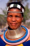 Portrait of Ndembelle Woman, South Africa Art Print