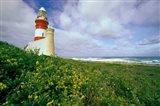 South Africa, Cape Agulhas Lighthouse Art Print