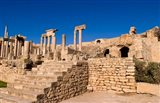 Roman Theater, Ancient Architecture, Dougga, Tunisia Art Print