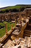 Ancient Architecture, Roman Brothels, Dougga, Tunisia Art Print