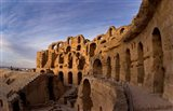 Ancient Roman Amphitheater, El Jem, Tunisia Art Print