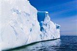 Landscape of iceberg, American Palmer Station, Antarctica Art Print
