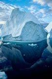 Icebergs and seascapes, Antarctica Art Print
