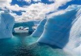 Antarctic Peninsula, Antarctica Errera Channel, Beautiful Iceberg Art Print