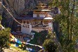 Taksang Monastery near Paro, Bhutan Art Print