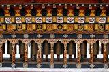 Prayer Wheels, Thimphu, Bhutan Art Print