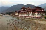 Punakha Dzong, Punakha, Bhutan Art Print