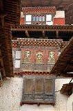 Wangu Phodrang Dzong, Wangdue, Bhutan Art Print