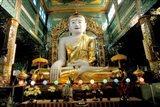 Burma, Syun Oo Pone Nya Shin temple pagoda Art Print