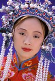 Portrait of Chinese Woman Wearing Ming Dynasty Dress, China Art Print