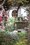 Caged Songbird Hangs in Administrator's Garden, Suzhou, Jiangsu Province, China Art Print