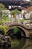 China, Jiangsu, Suzhou, North Temple Pagoda, path Art Print