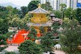 The Gold Pavilion of Absolute Perfection, Hong Kong, China Art Print
