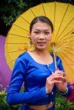 China, Yunnan, Young Dai Portrait Art Print
