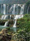 Jiulong Waterfall, Qujing, Luoping County, Yunnan Province, China Art Print
