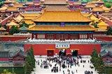 Forbidden City North Gate, Gate of Divine Might, Beijing, China Art Print
