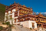 Sangpi Luobuling Si Monastery, Sichuan, China Art Print
