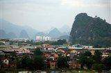Scenic landscape of Guilin, Guangxi, China Art Print