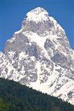 Mount Ushba, Svaneti, Georgia Art Print
