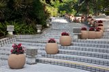 Steps in Hong Kong Park, Hong Kong, China Art Print