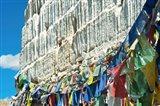 Prayer Flags, Leh, Ladakh, India Art Print